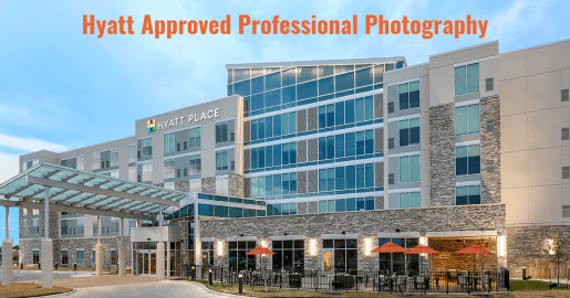 Hyatt Exterior photography