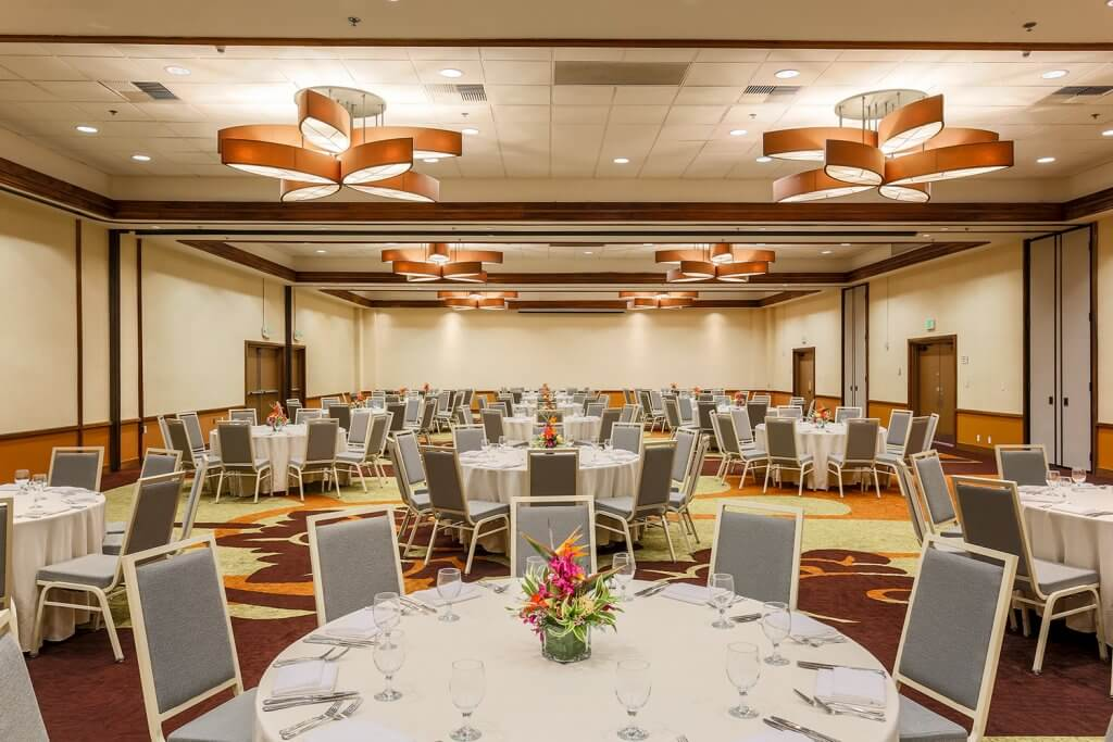 Hotel Ballroom in Hawaii