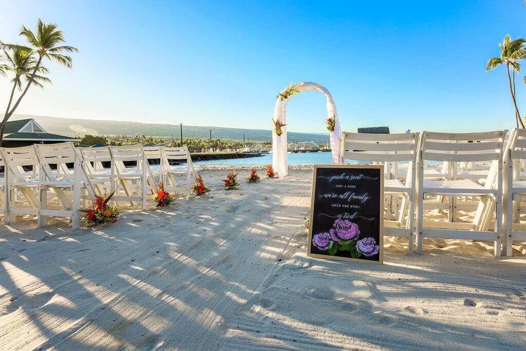 Hawaii Beach Wedding Ceromony
