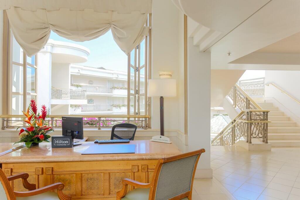 Concierge Desk in Hawaiian Resort