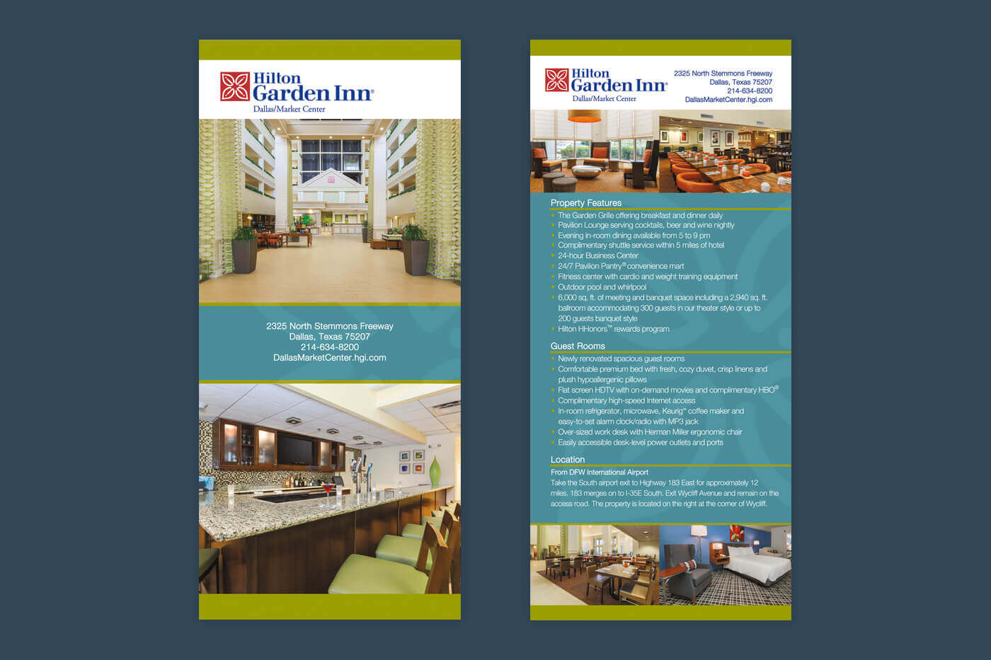 Rackcard - Hilton Garden Inn Dallas/Market Center