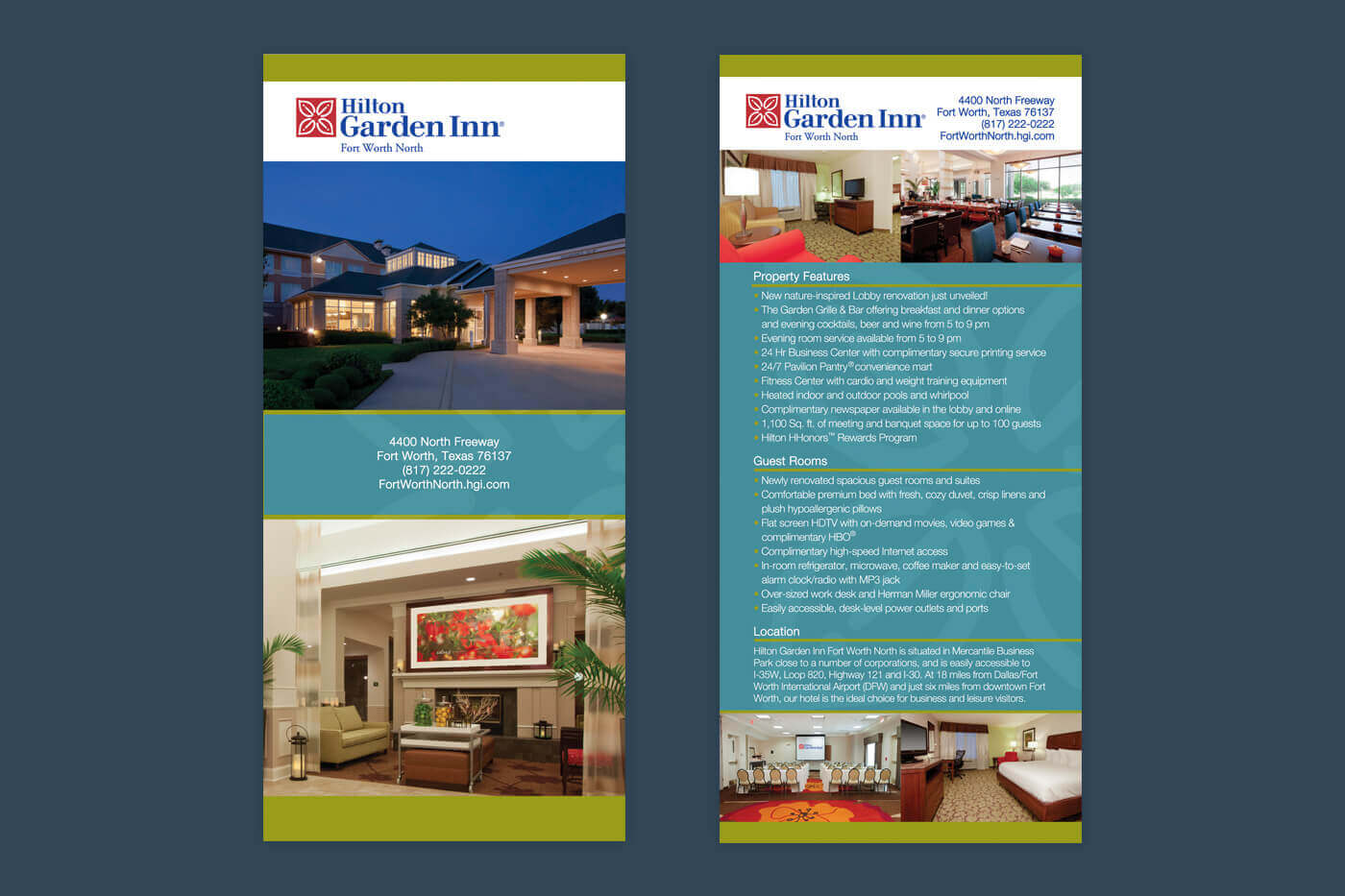 Marketing Solutions - Hilton Garden Inn Fort Worth North Rackcard