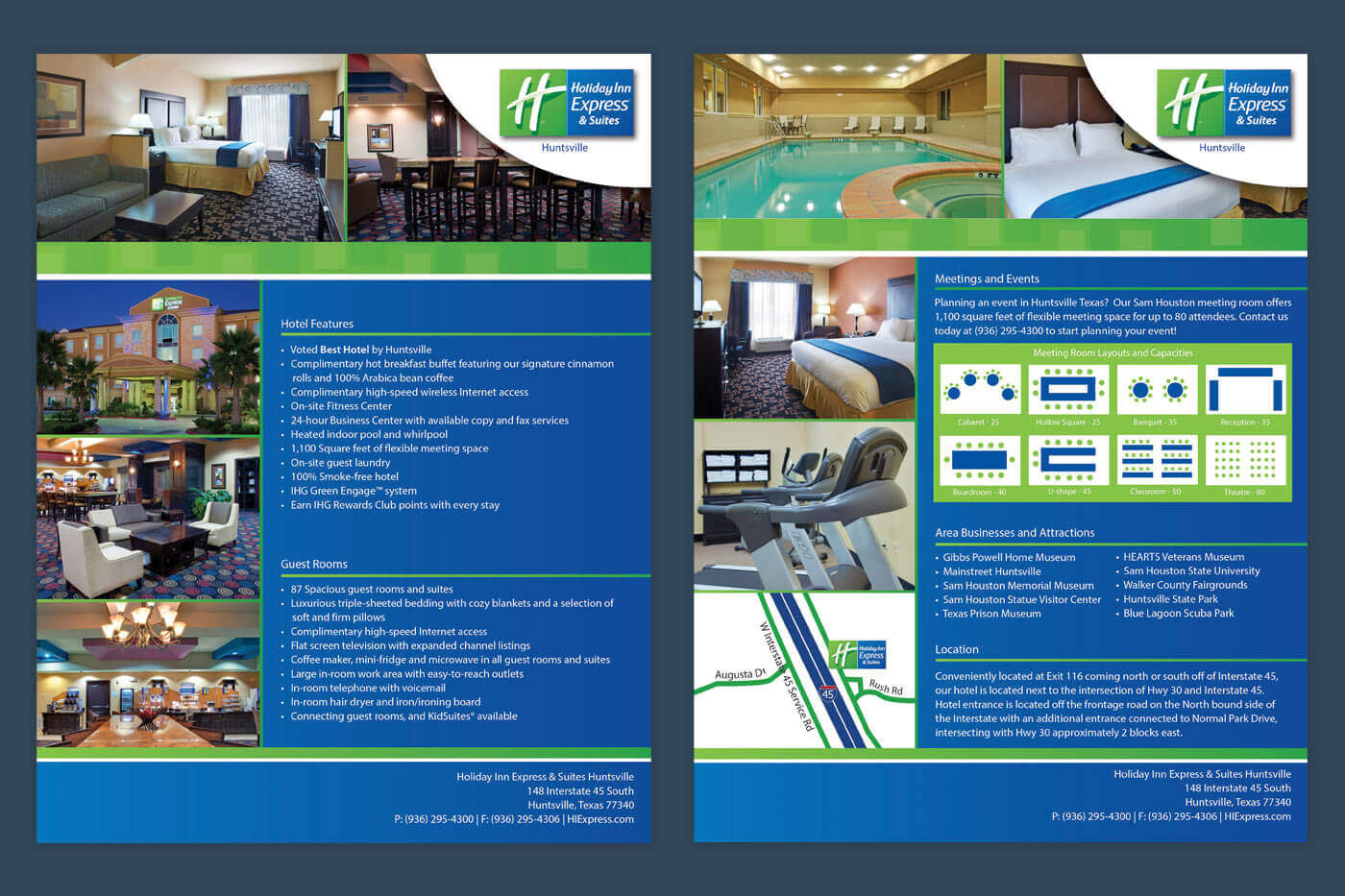 Hotel Marketing Solutions - Holiday Inn Express Huntsville Factsheet